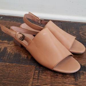 Madewell Noelle Slingback Sandal Leather H6729